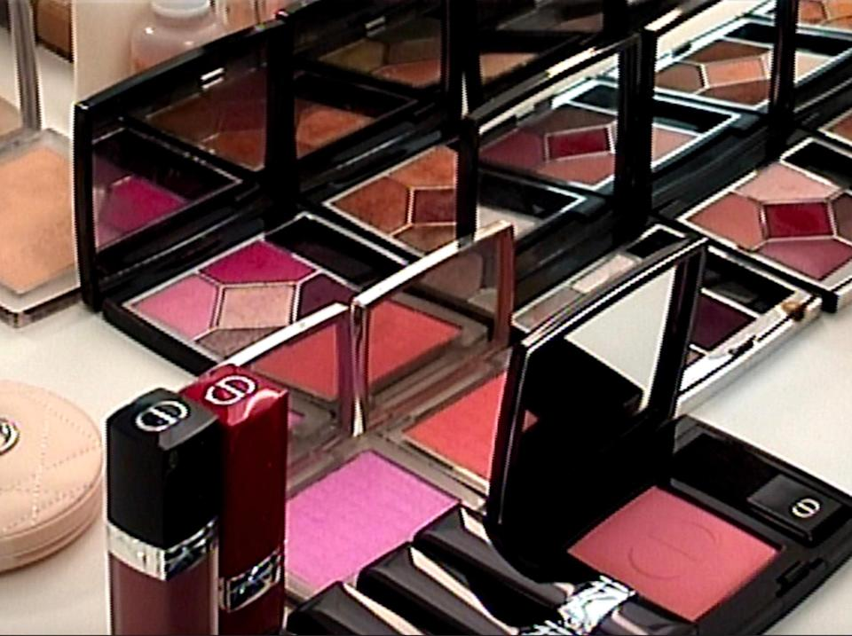 """""""Beautiful palettes from Dior Makeup created by the lovely Peter Philips."""""""