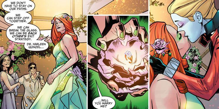 Harley Quinn and Poison Ivy tie the knot in 'Injustice: Year Zero' (Photo: DC Comics)
