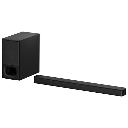 Sony HT-S350 Sound Bar with Wireless Subwoofer. Image via Best Buy.