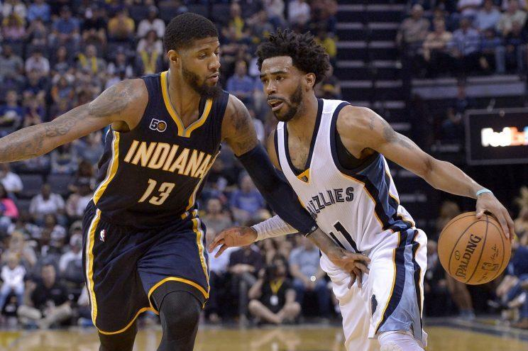 Mike Conley added to Paul George and the Pacers' pain. (AP)