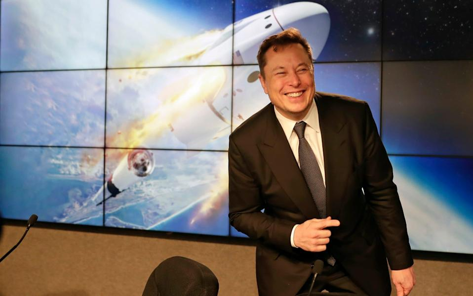 The SpaceX and Tesla chief executive has enjoyed a tremendous year commercially so far - John Raoux/AP