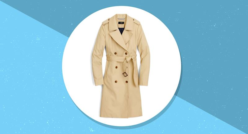 Hurry! This classic J.Crew trench coat is 40 percent off