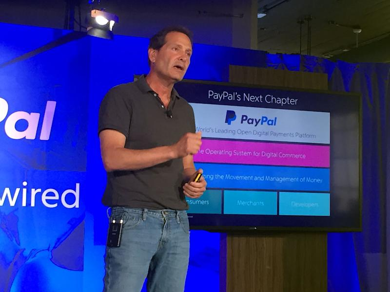 PayPal shares tick up after surpassing expectations for the quarter