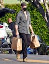 <p>Colin Farrell makes a grocery run in Los Angeles on Tuesday.</p>