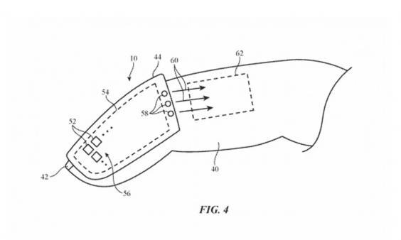 Apple's patent describes a device that can 'manipulate virtual objects in a mixed reality or virtual reality environment' (USPTO)