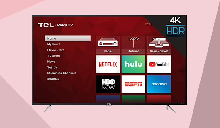 Save 31 percent on this TCL 43-inch 4K Smart TV (43S425). (Photo: Amazon)