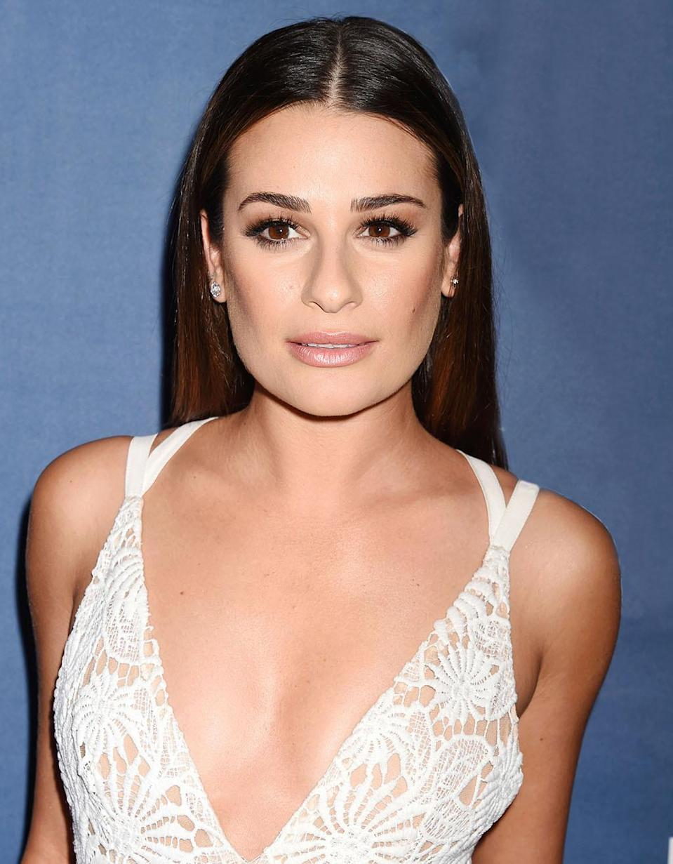 """<p>We're all guilty of doing whatever it takes to cover up pimples at a moment's notice, but in an interview with <i>Byrdie</i>, Lea Michele admitted to c<a href=""""https://links1.mixmaxusercontent.com/xbodKWhTJnYD6bug3/l/eB6ANw8xi0jP2dPLU?rn=gIvRXd2V2YpJFIllGb1pkI&re=gIt92YuwWah"""" rel=""""nofollow noopener"""" target=""""_blank"""" data-ylk=""""slk:overing up acne with eyeliner"""" class=""""link rapid-noclick-resp"""">overing up acne with eyeliner</a> and disguising her pimples as moles. Thankfully, Michele quickly realized her coverup move wasn't a good idea after a friend asked why she had tons of """"black dots"""" all over her face.</p><p><br></p><p><br></p>"""