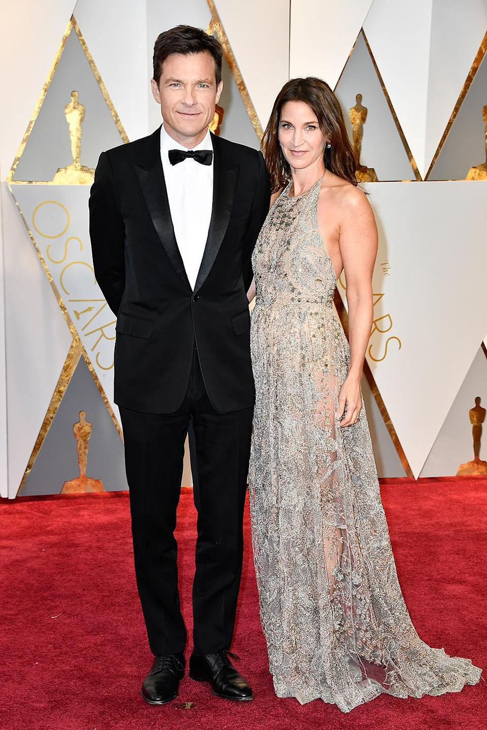 <p>Jason Bateman and Amanda Anka attend the 89th Annual Academy Awards at Hollywood & Highland Center on Feb. 26, 2017. (Photo by Frazer Harrison/Getty Images) </p>