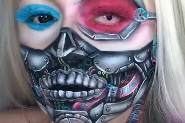 Skull-inspired makeup looks are hauntingly beautiful