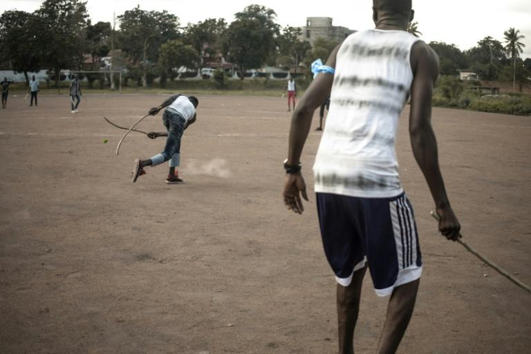 A sport known as ngbaba that is unique to the Central African Republic has been hauled back from near-death