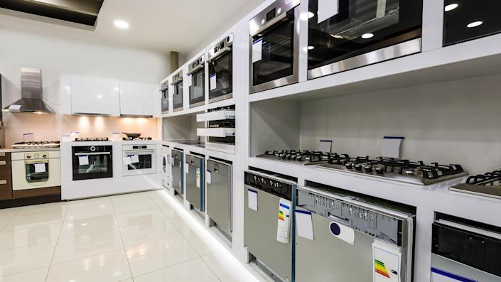 Check to see if any local appliance stores allow you to shop online.