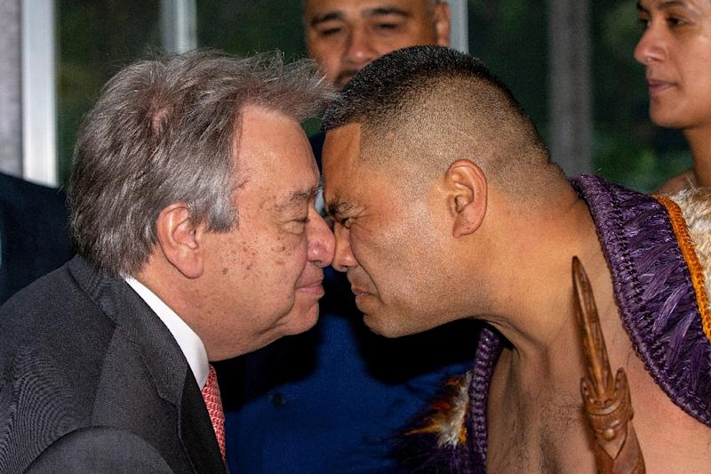 United Nations chief begins South Pacific tour with climate change…