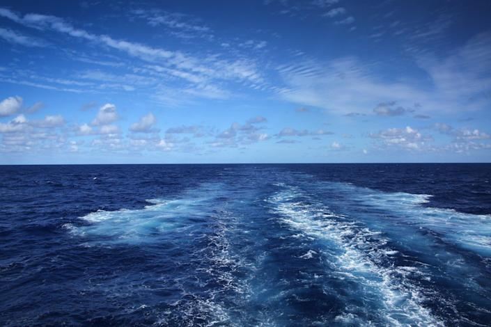 <p>Clear evidence: Atlantic currents carry the Gulf Stream</p> (Getty Images/iStockphoto)