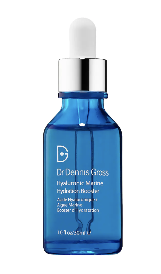 """<p><strong>Dr. Dennis Gross Skincare</strong></p><p>sephora.com</p><p><strong>$68.00</strong></p><p><a href=""""https://go.redirectingat.com?id=74968X1596630&url=https%3A%2F%2Fwww.sephora.com%2Fproduct%2Fclinical-concentrate-hydration-booster-P385773&sref=https%3A%2F%2Fwww.oprahdaily.com%2Fbeauty%2Fskin-makeup%2Fg27529759%2Fbest-hyaluronic-acid-serum%2F"""" rel=""""nofollow noopener"""" target=""""_blank"""" data-ylk=""""slk:Shop Now"""" class=""""link rapid-noclick-resp"""">Shop Now</a></p><p>Watermelon extract gives this serum an extra boost of hydrating power that not only leaves skin soft and moisturized, but also smoothes fine lines and wrinkles. </p>"""