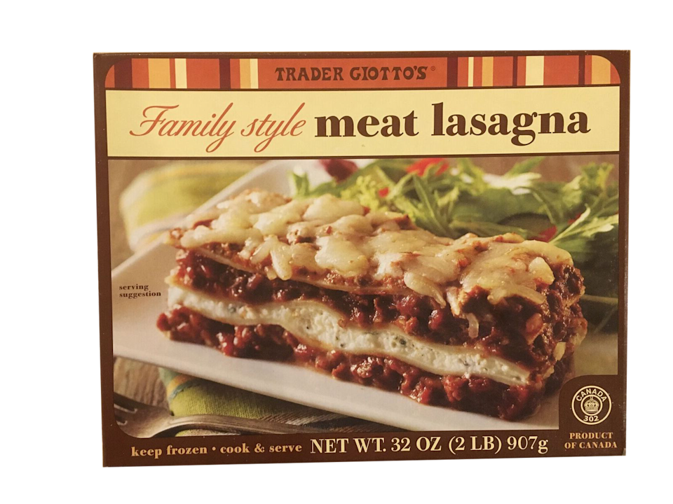 <p>Same as above re: size, but the meat gives it extra flavor and makes it taste more like a classic lasagna.</p>