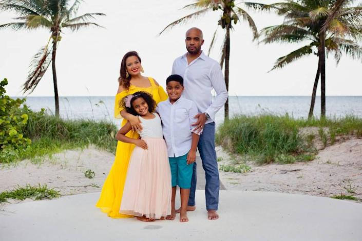 Xiomara Napoleon and her husband, Hilton Napoleon II, are fully vaccinated. Their 12-year-old son, Hilton, is in line to be vaccinated against COVID-19. The Coral Gables family is hoping their 10-year-old daughter, Frances, will be able to get a vaccine soon too.
