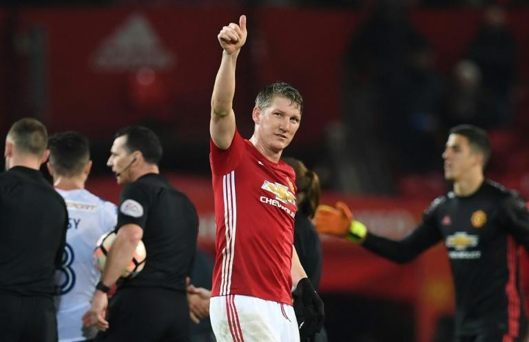 """I am grateful to the club for allowing me the chance to take up the challenge at Chicago Fire,"" Schweinsteiger said of Manchester United"