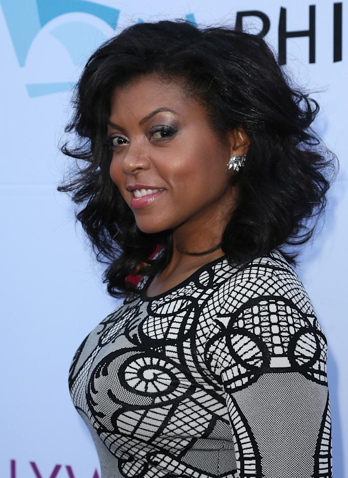 HOLLYWOOD, CA - JUNE 21: Actress Taraji P. Henson attends the Hollywood Bowl opening night and Hall of Fame inductions at the Hollywood Bowl on June 21, 2014 in Hollywood, California. (Photo by David Livingston/Getty Images)