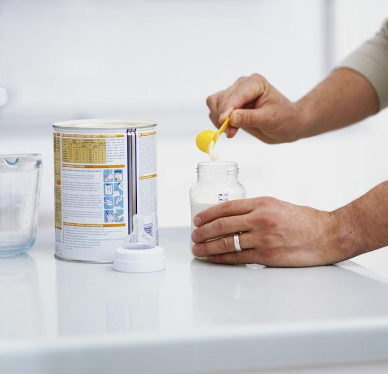 A mum is outraged after she claims she was accused of 'tampering' with baby formula she tried to return to a chemist. Photo: Getty Images
