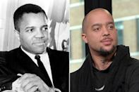 "<p>The music executive and pioneer, who famously founded Motown Records and co-wrote iconic songs like The Jackson 5's ""I Want You Back"" and ""ABC,"" is grandfather to Skyler Austen Gordy, who was one half of the musical duo LMFAO.</p> <p>Skyler, who goes by stage name Sky Blu (stylized as 8ky 6lu), and Stephen Kendal Gordy, Skyler's uncle who goes by stage name Redfoo, created LMFAO and had chart-topping hits like ""Party Rock Anthem,"" ""Sexy and I Know It,"" ""Party Rock"" and ""I'm in Miami B----."" However, the two have since disbanded the group.</p>"