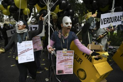 The government's negotiations with the International Monetary Fund has spurred protests