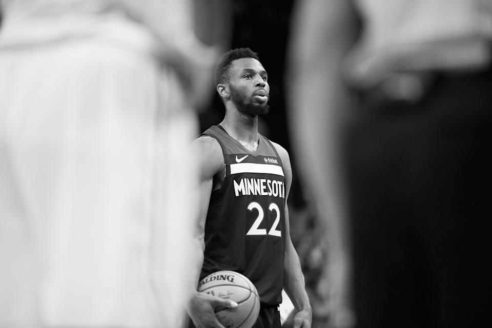 Andrew Wiggins is seeing the game in a whole new light. (Hannah Foslien/Getty Images)