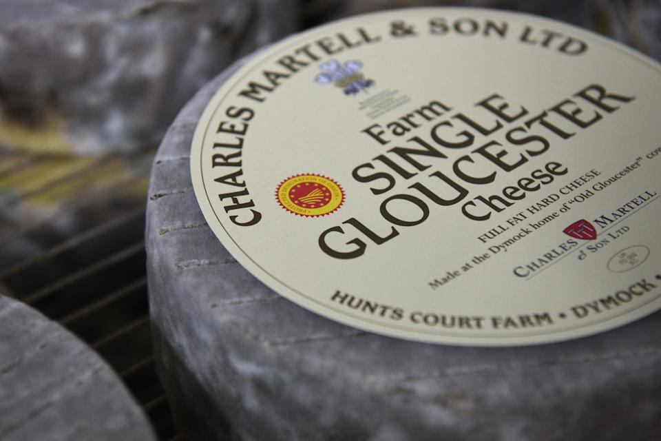 Cheese exports to the EU fell by two-thirds in the first three months of the year, compared with the same period in 2020 (AFP via Getty Images)