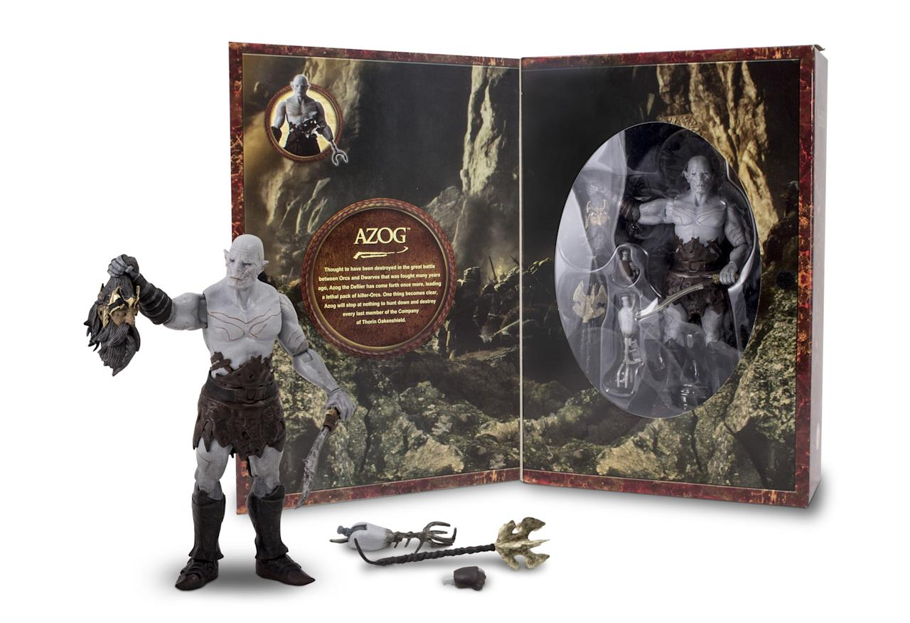 "<b>Azog ""Hobbit"" Collector Figure</b> <br />The Bridge Direct"