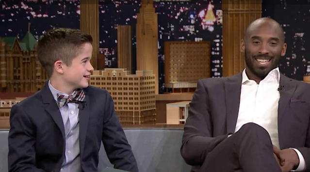 """SI Kids reporter Max Bonnstetter continues to make the rounds and impress people everywhere he goes and on Monday, he appeared on the """"Tonight Show with Jimmy Fallon"""" to interview Los Angeles Lakers legend Kobe Bryant."""