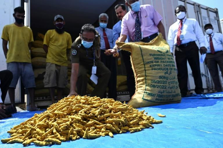 Customs agents recently found 25 tonnes of turmeric smuggled into Sri Lanka from India, while navy patrols have seized several tonnes from Indian fishermen