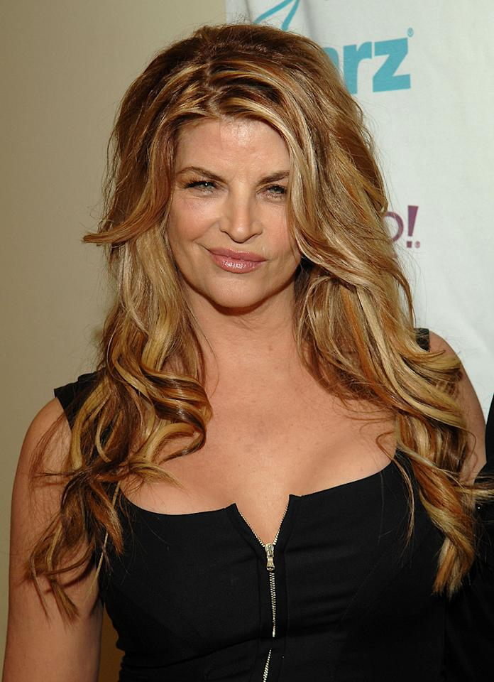 """<a href=""""http://movies.yahoo.com/movie/contributor/1800018894"""">Kirstie Alley</a> at the Hollywood Film Festival's Hollywood Awards in Beverly Hills - 10/22/2007"""