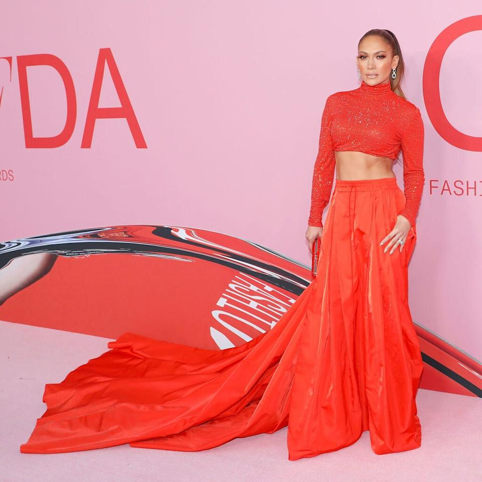 J Lo at the CFDA Fashion Awards in New York City. [Photo: Getty]