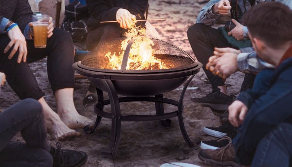 Curl up next to the fire. (Photo: Amazon)