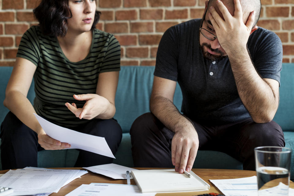 Fallen behind on your home loan repayments? Here's how to get yourself out of mortgage arrears. (Photo: Getty)