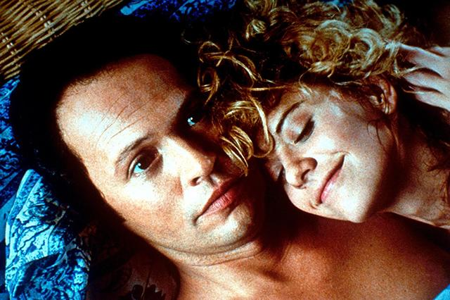 "<strong><em><h3>When Harry Met Sally</h3></em><h3>, 1989</h3></strong><h3><br></h3><br>We should probably hate this film for conning us into thinking we'd meet our one true love at the stroke of midnight on New Year's Eve, but it's still adorable.<br><br><strong>Watch On: </strong>Amazon Video<span class=""copyright"">Photo: Courtesy of Columbia Pictures.</span>"