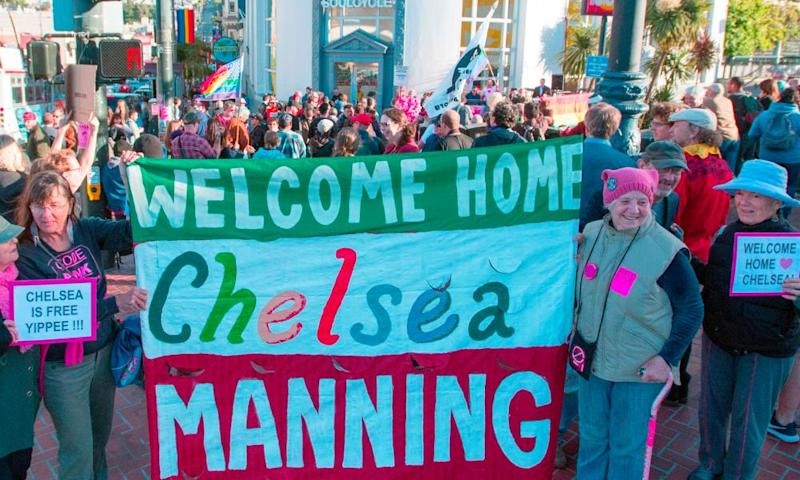rally San Francisco Chelsea Manning 17 May 2017