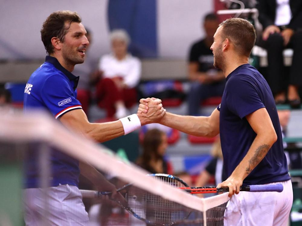 It was a weekend to remember for Benneteau (Getty)