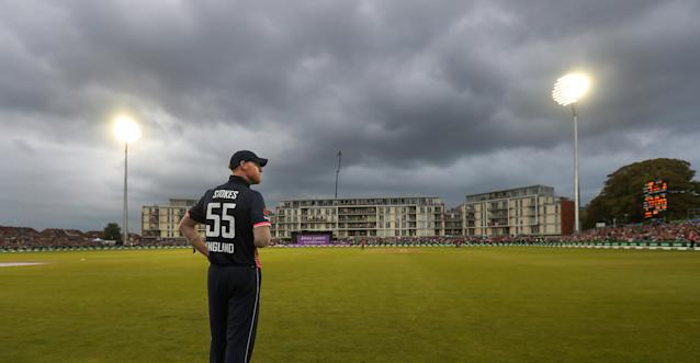 England's Ben Stokes during the Third Royal London ODI at Bristol County Ground. PRESS ASSOCIATION
