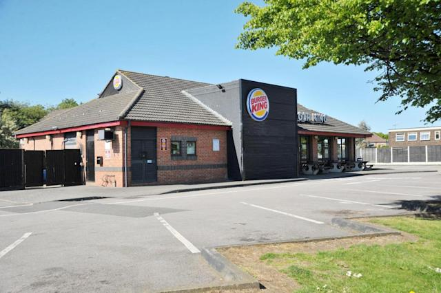 The tearaway youth had been banned from the fast food outlet, two shopping centres and a community hub last month unless he had an adult with him. (SWNS)