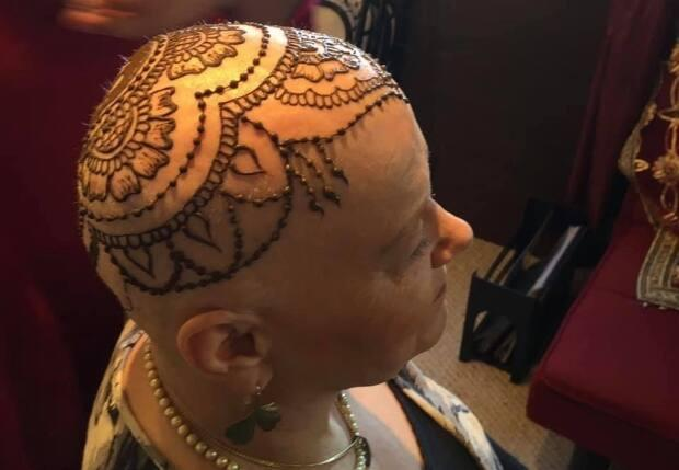 'There is a lady in Halifax who provided henna crowns for chemo patients who lost their hair. It made me feel like a warrior princess!' says Karen Mellish-May of Summerside.