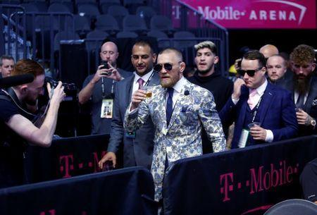 Conor McGregor has reportedly turned himself into police after crashing the UFC media today on Thursday in New York. (REUTERS)