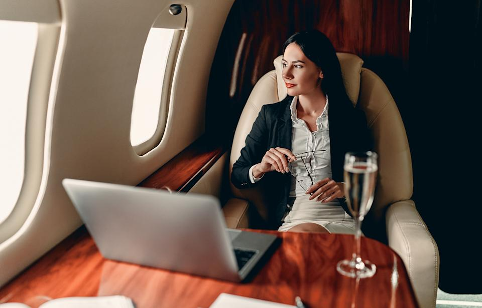 4 tips to hack yourself to a business class flight. Source: Getty