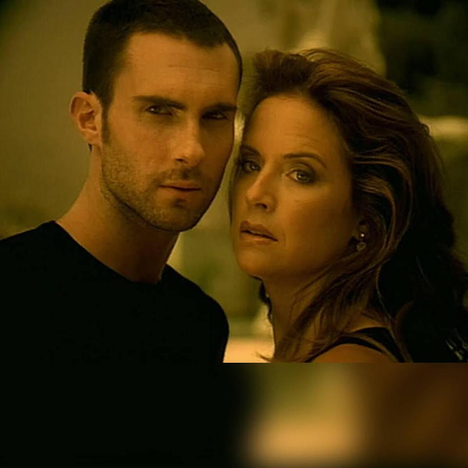 "Adam Levine Recalls French Kissing Kelly Preston in Maroon 5's ""She Will Be Loved"" Music Video"
