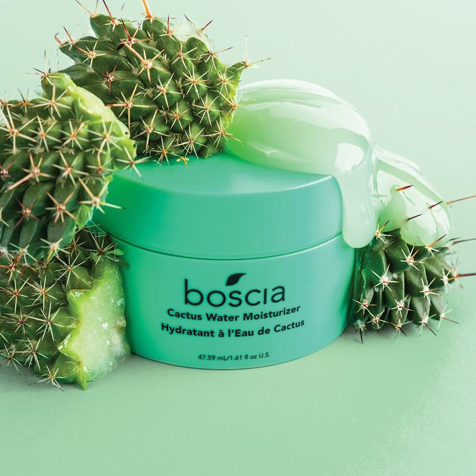 <p>Quench thirsty summer skin with the <span>boscia Cactus Water Moisturizer</span> ($38). The star ingredient, Queen of the Night cactus, is a rare plant praised for its ability to survive in the harshest desert climates. So, if you've got dehydrated skin, this is the moisturizer for you.</p>