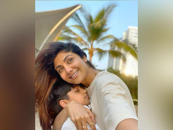 Shilpa Shetty and her son Viaan (Image courtesy: Instagram)