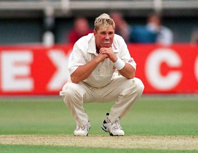 Shane Warne's weight was the subject of a cutting comment from Daryll Cullinan (David Jones/PA)