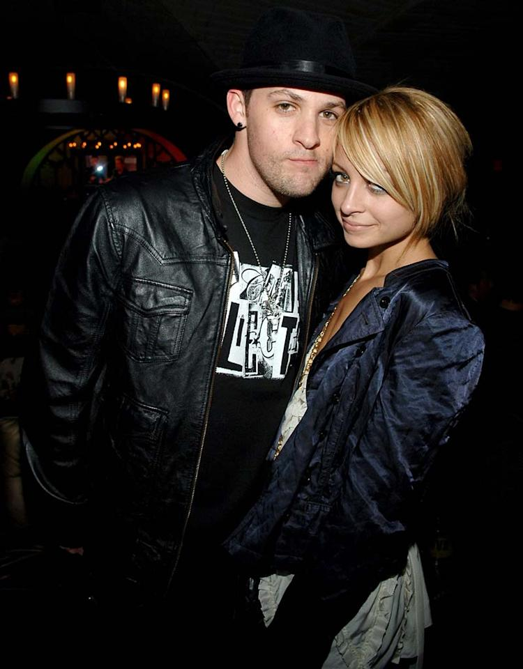 "After months of rumors, Nicole Richie revealed that she is four months pregnant with Joel Madden's baby. The Good Charlotte singer has had to change his lifestyle accordingly -- he's given up smoking a pack and a half a day. Jamie McCarthy/<a href=""http://www.wireimage.com"" target=""new"">WireImage.com</a> - February 8, 2007"