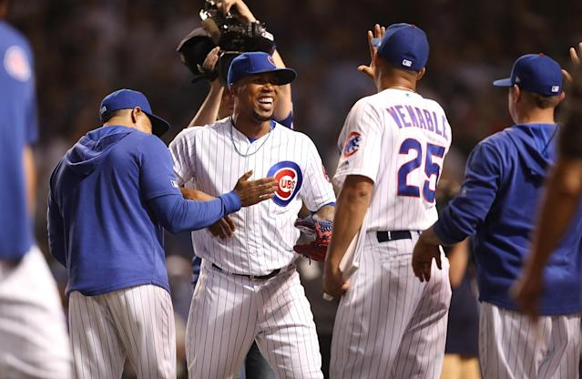 The Chicago Cubs bullpen ERA is 15th in baseball. (Getty Images)