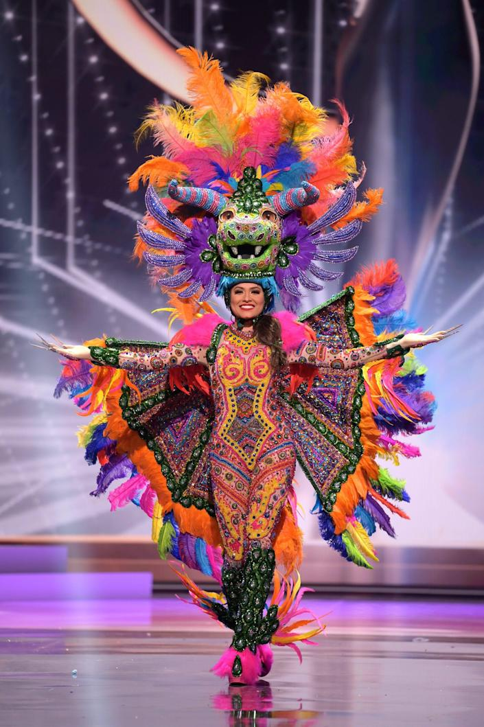 Miss Mexico National Costume Show 2021