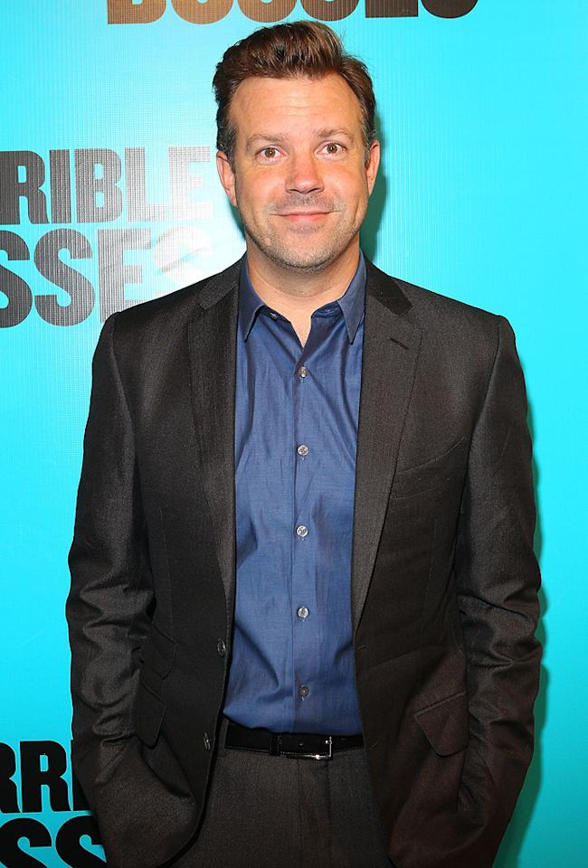 "Jason Sudeikis (""Horrible Bosses"") turns 36. Lucas Dawson/<a href=""http://www.gettyimages.com/"" target=""new"">GettyImages.com</a> - August 14, 2011"